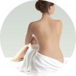Silhouette corps de femme